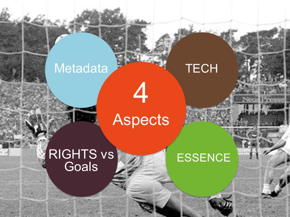 Metadata RIGHTS vs Goals TECH ESSENCE 4 Aspects