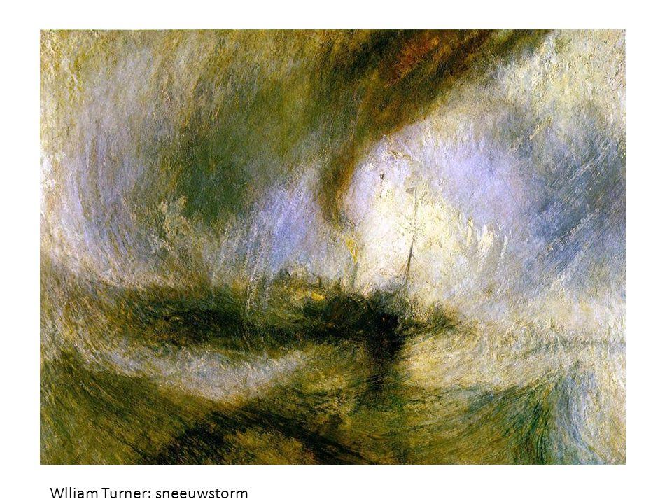 Wlliam Turner: sneeuwstorm