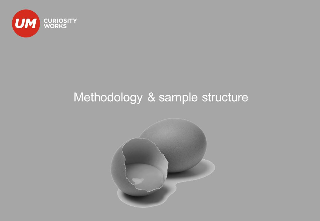 Methodology & sample structure