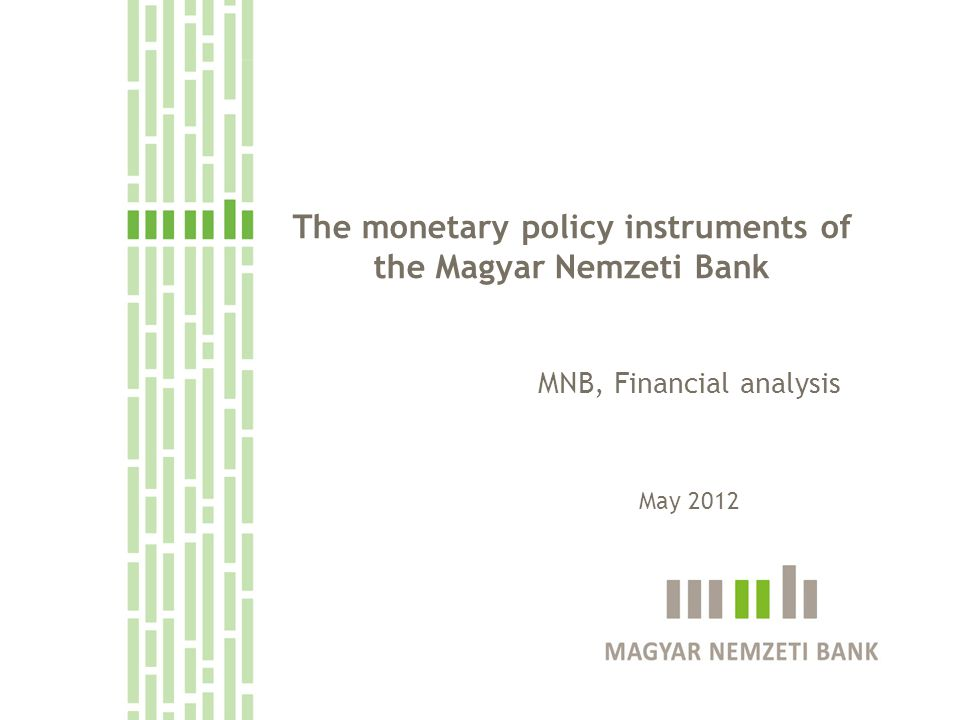 1.The place of the instruments within the inflation targeting regime 2.The structure of the instruments 3.Determinants of interbank liquidity on the aggregate level 4.Shocks to the liquidity of the banking system and their management 2 Topics