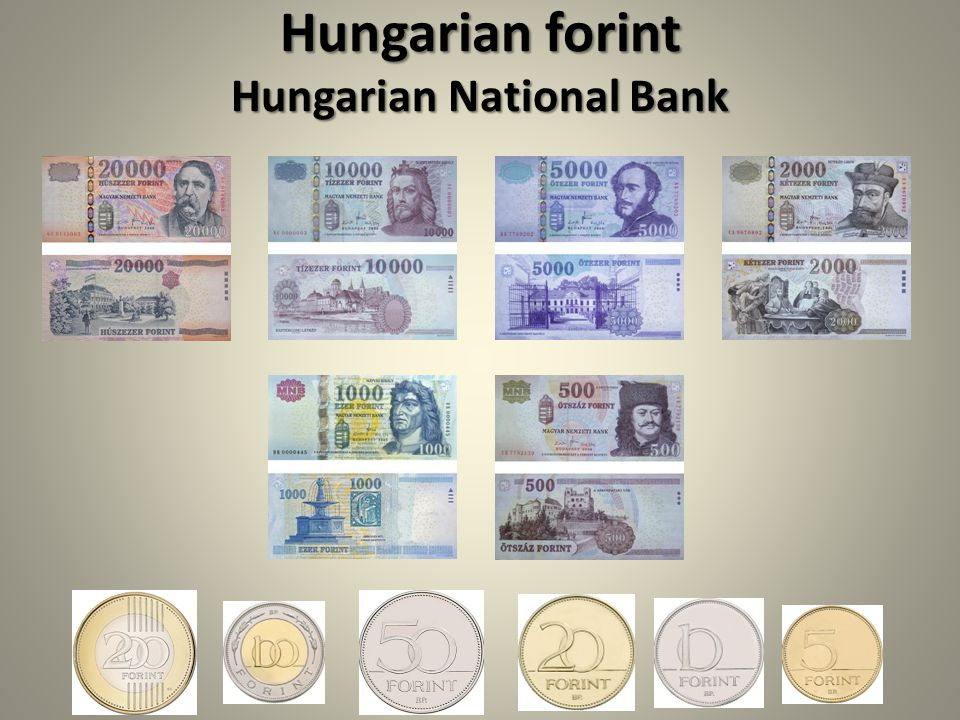 Hungarian forint Hungarian National Bank
