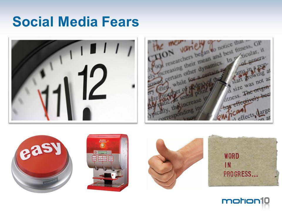 Social Media Fears