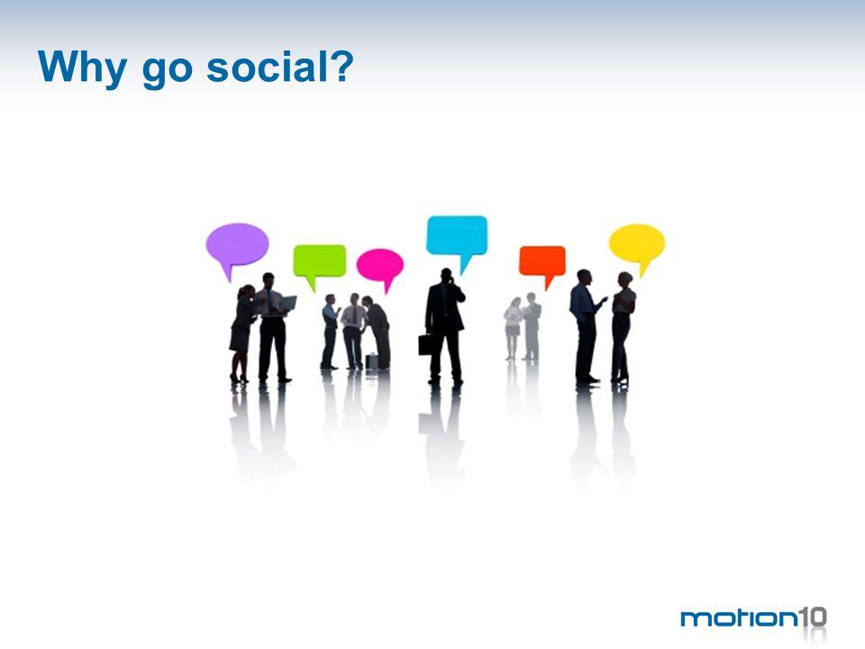 Why go social?