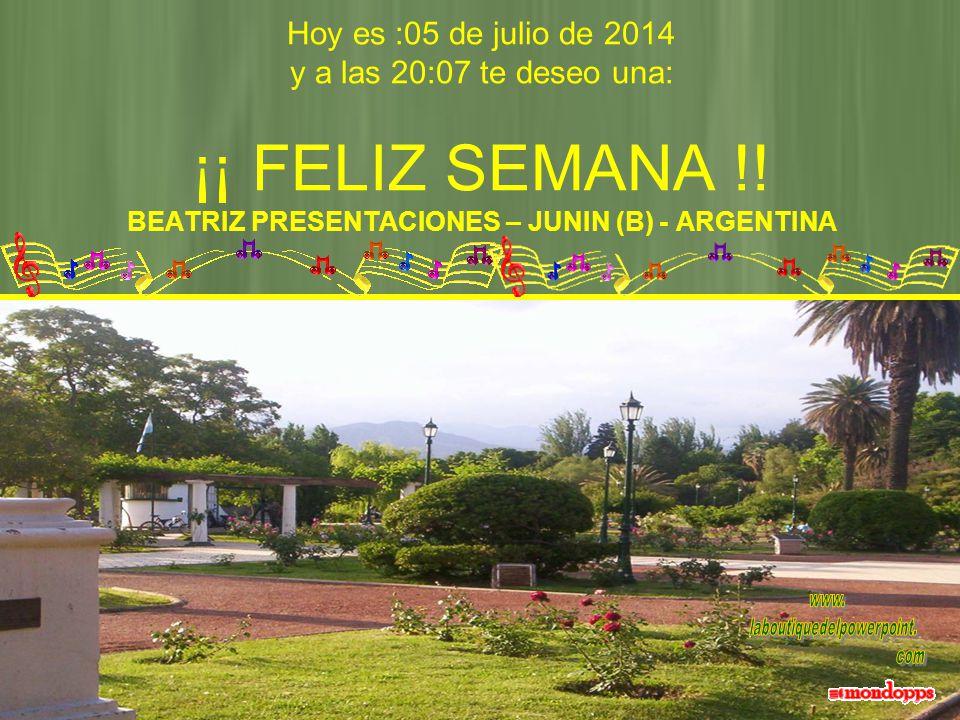 BEATRIZ PRESENTACIONES JUNIN (B) ARGENTINA