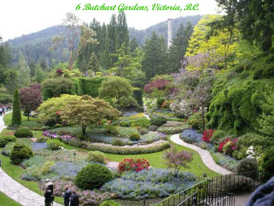 6 Butchart Gardens, Victoria, B.C.