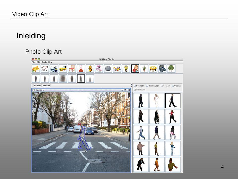 Ben Raes & Sam Decrock15 Video Clip Art Inleiding Papers Bestaande Software Praktisch Idee
