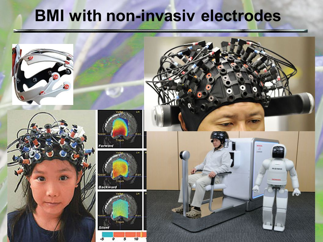 BMI with non-invasiv electrodes