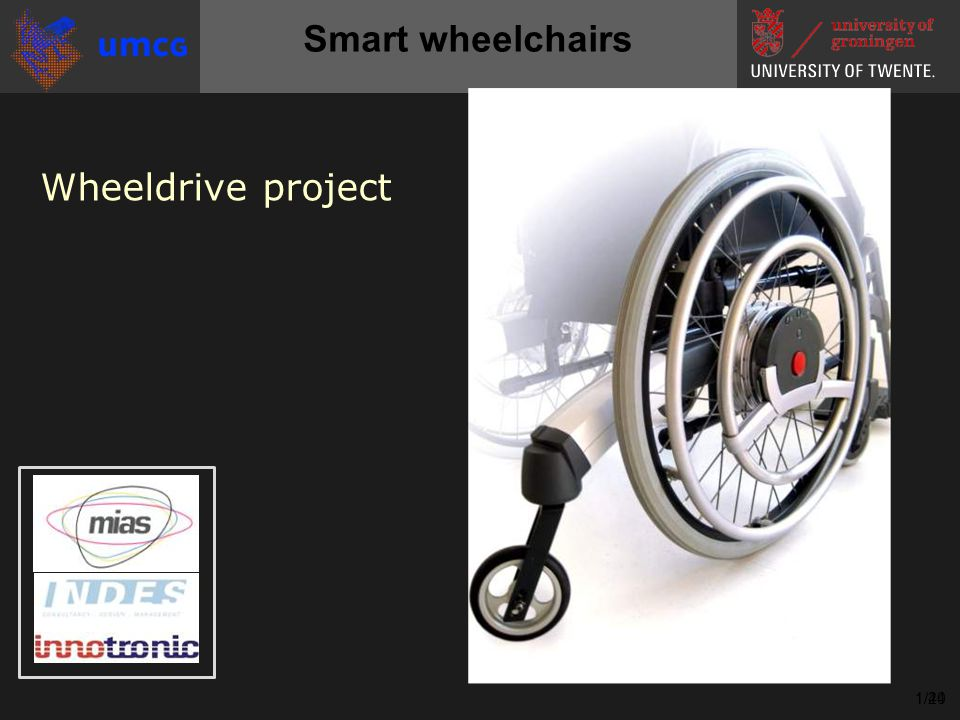 Wheeldrive project 1/241/40 Smart wheelchairs