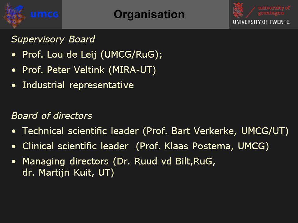 Supervisory Board •Prof. Lou de Leij (UMCG/RuG); •Prof.