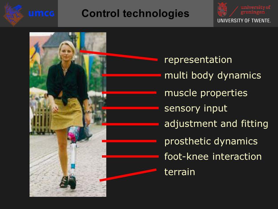 Smart prostheses / orthoses