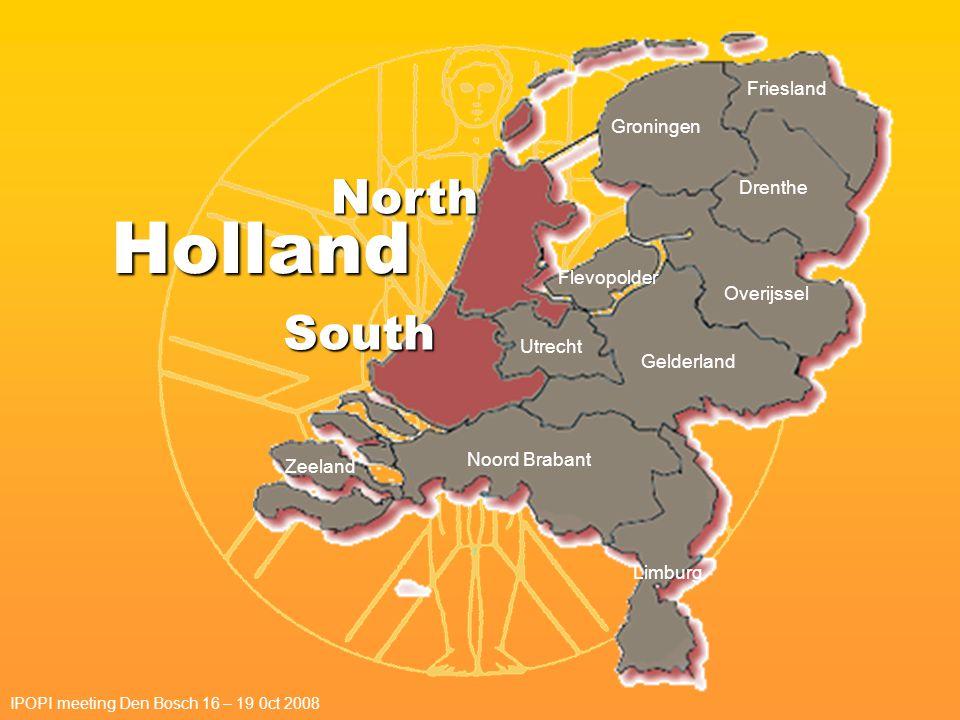 Holland North South Groningen Friesland Drenthe Overijssel Gelderland Utrecht Noord Brabant Zeeland Limburg Flevopolder