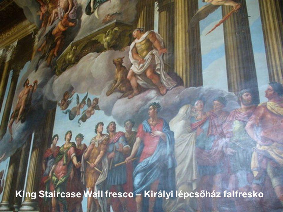 King Staircase wall and ceiling pictures – Királyi lépcsőház fal és mennyezet