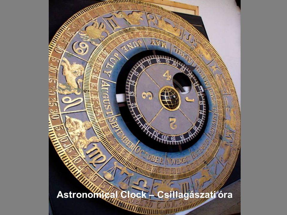 Anna Boile Gate Csillagászati óra