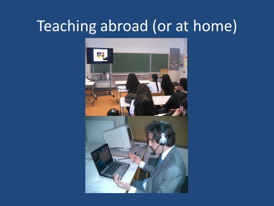 Teaching abroad (or at home)