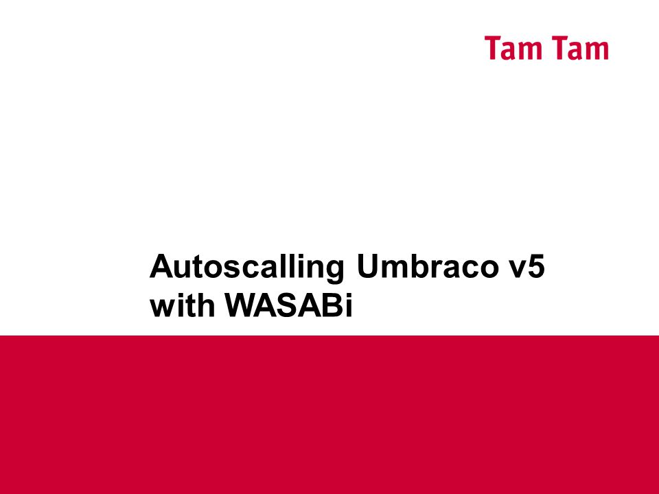 Autoscalling Umbraco v5 with WASABi