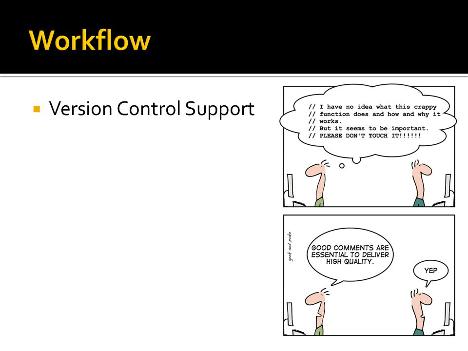  Version Control Support