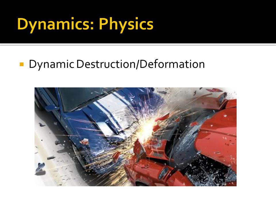  Dynamic Destruction/Deformation