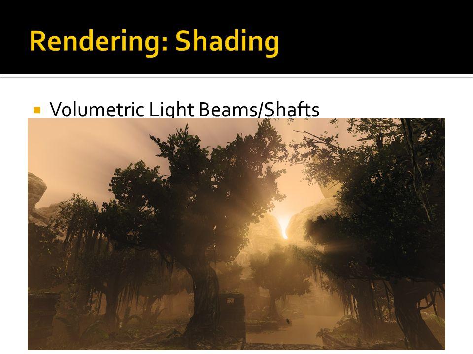  Volumetric Light Beams/Shafts