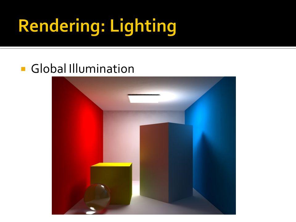  Global Illumination