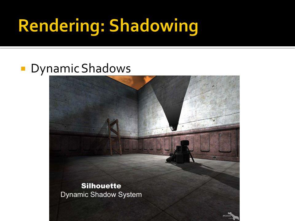  Dynamic Shadows