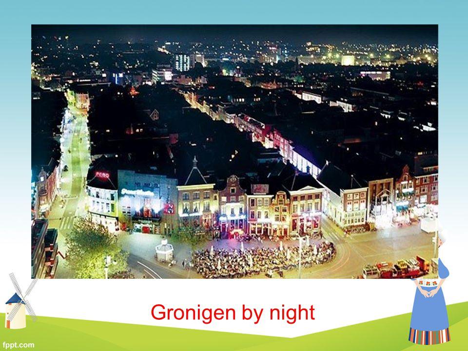 Gronigen by night