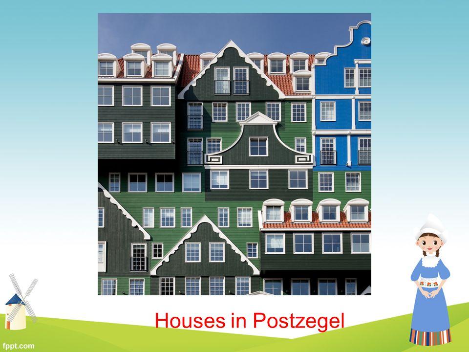 Houses in Postzegel