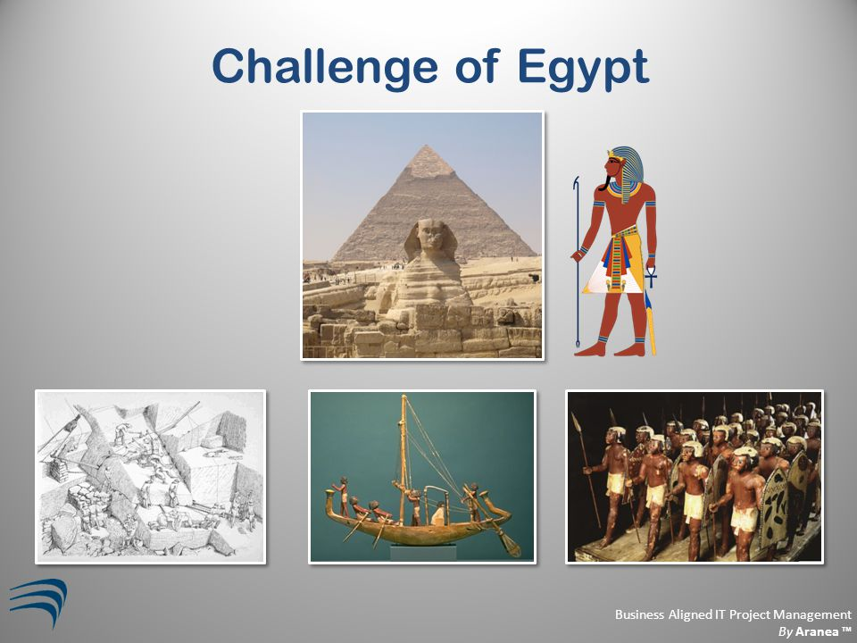 Business Aligned IT Project Management By Aranea ™ Challenge of Egypt