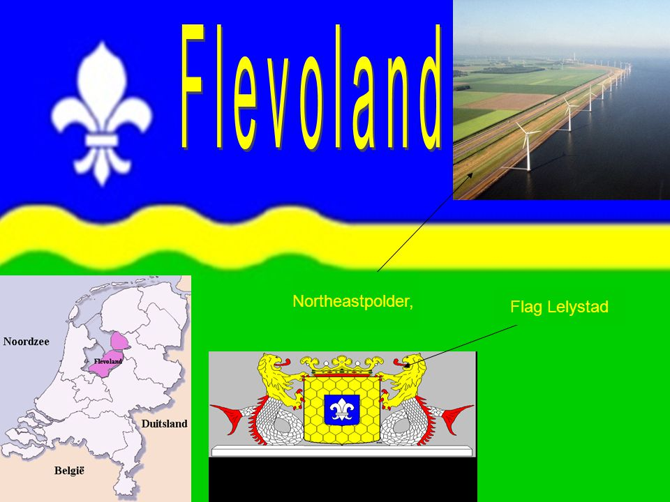 Northeastpolder, Flag Lelystad