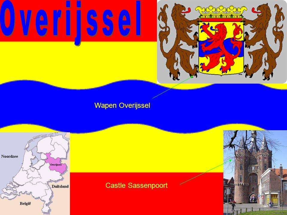Wapen Overijssel Castle Sassenpoort