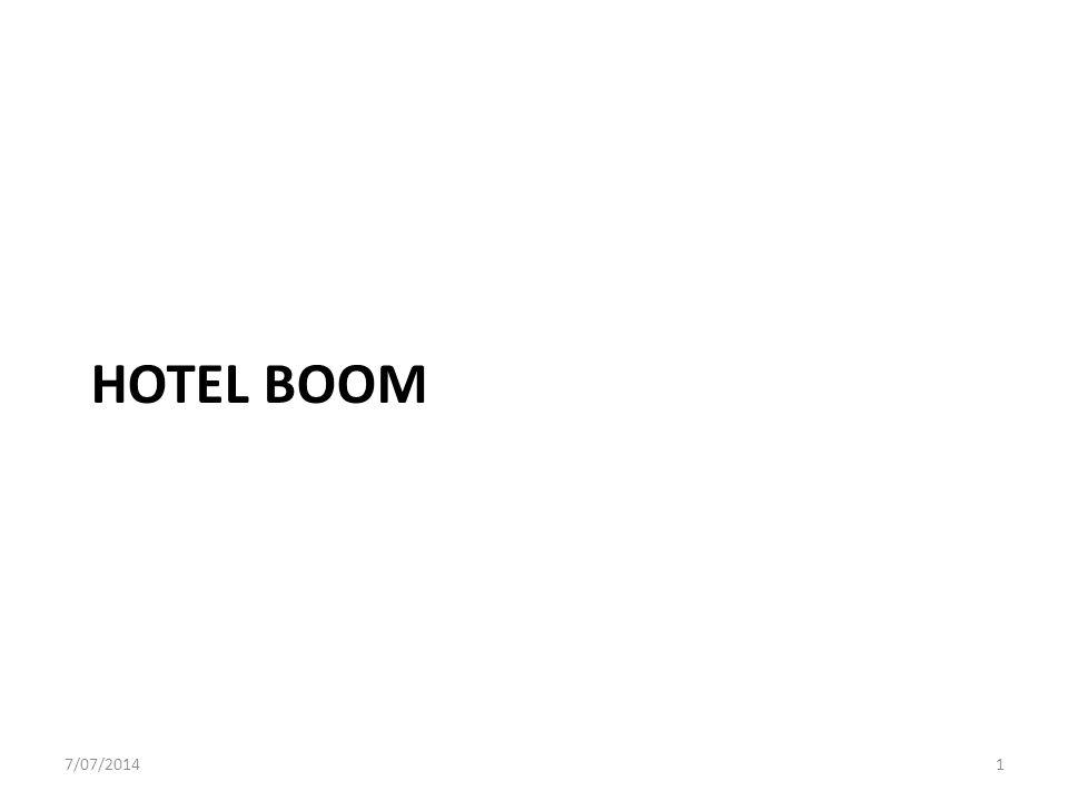 HOTEL BOOM 7/07/20141