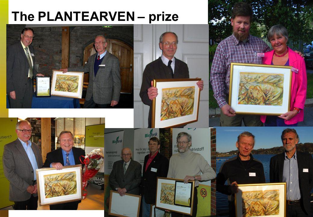 The PLANTEARVEN – prize