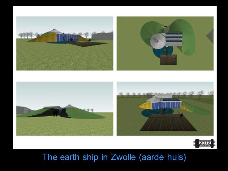 The earth ship in Zwolle (aarde huis)