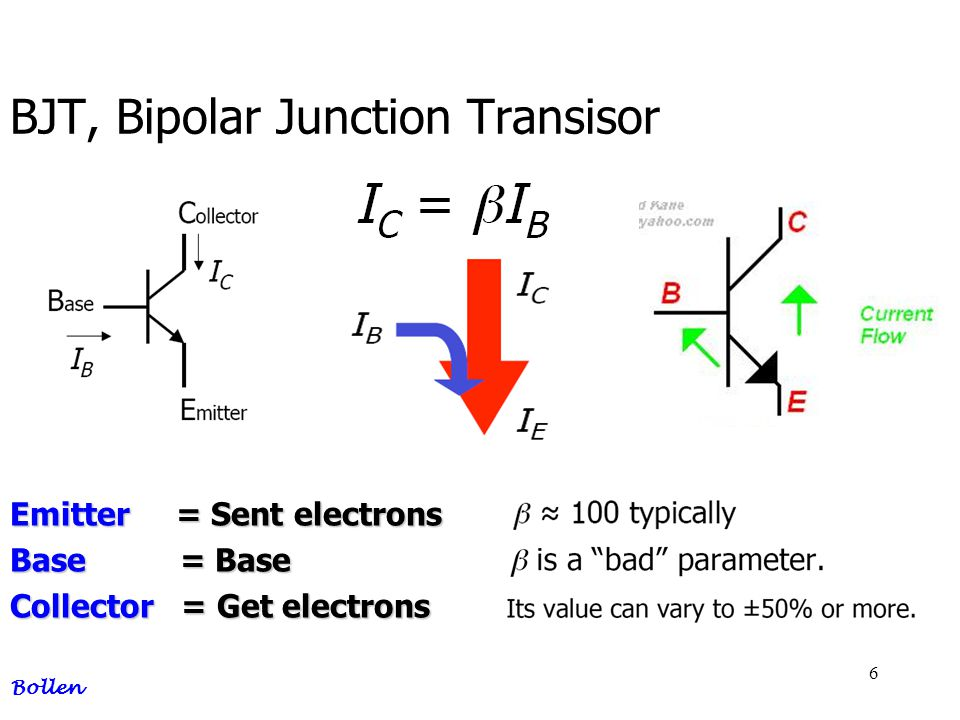 37 BJT, base bias + collector feedback Bollen Always calculate in the smallest current Ib !.