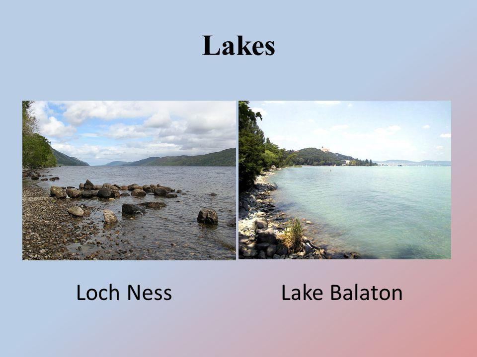 Lakes Loch NessLake Balaton