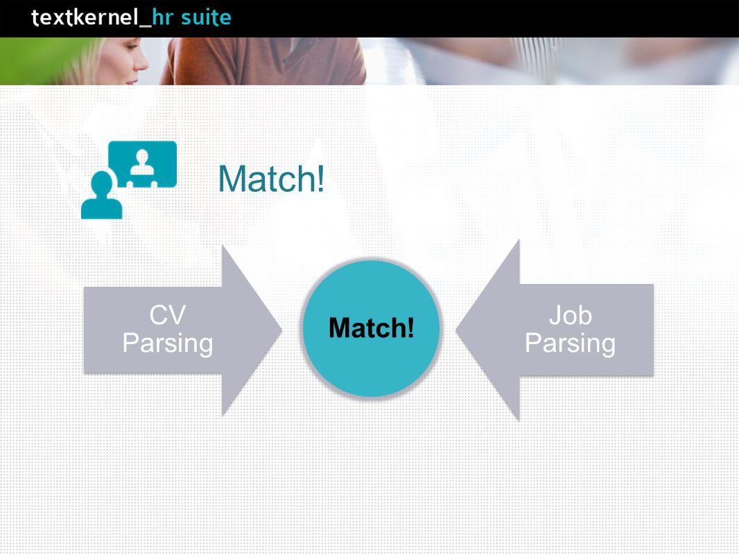 CV Parsing Job Parsing Match!