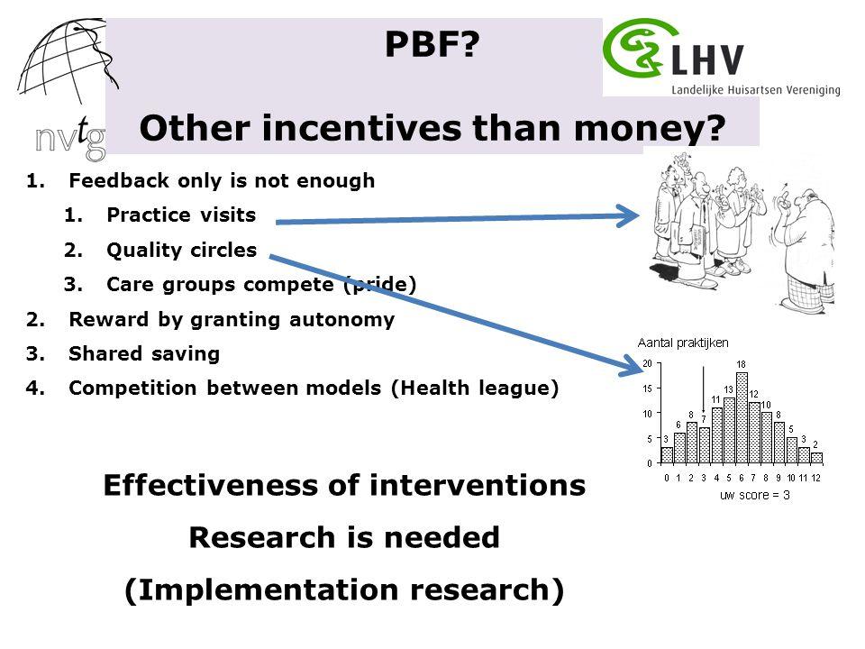 Het lijkt te werken in Kinzigtal value-based competition on results Geïntegreerd initiatief Outcome: kosten ↓↓ Care ↑ & Health ↑ ?.