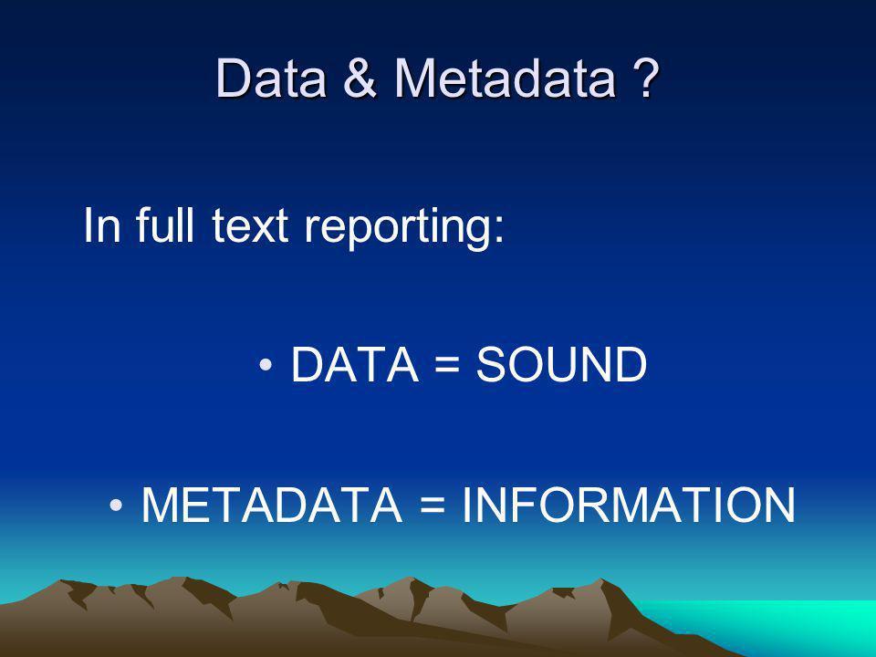 digitalised audio & video indexation– cutting – physical & virtual database applications publishing (paper – web …) input control