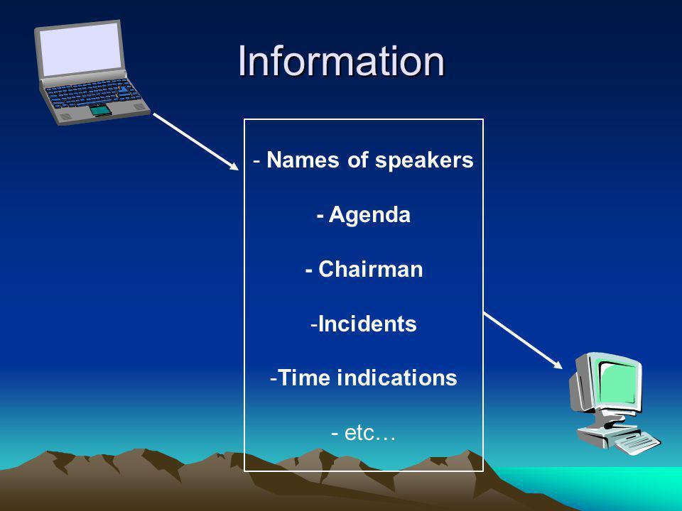 Audio cutting info servers