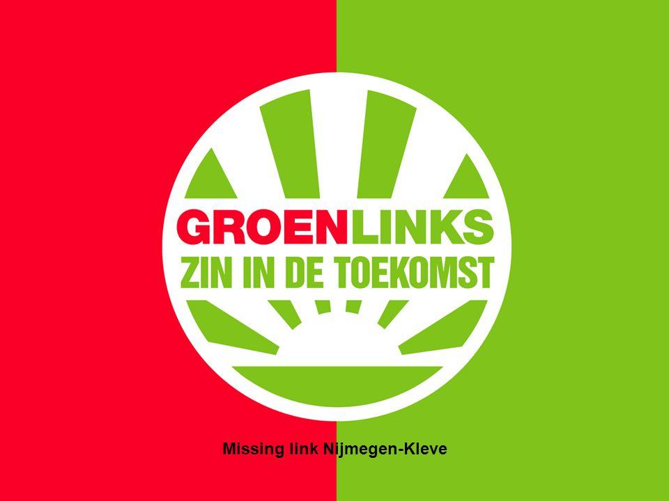 Missing link Nijmegen-Kleve