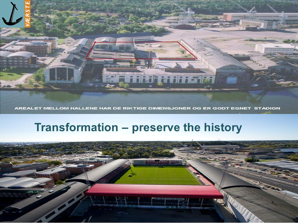 7 Transformation – preserve the history