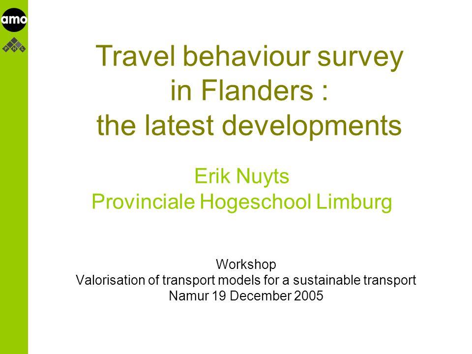 onderzoeksinstituut 1 or 2 types of questions on work/ school trips .