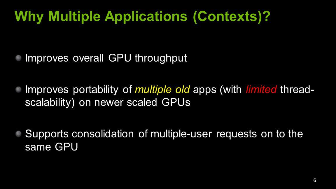 We study two applications scenarios 2.
