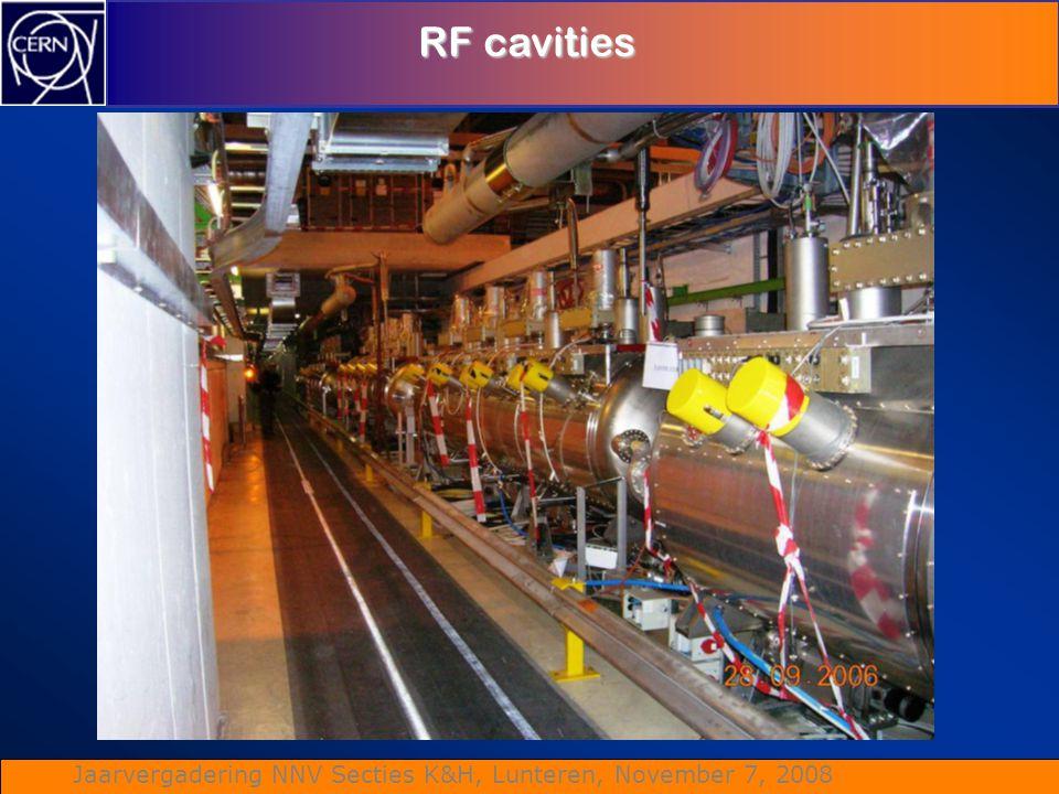 Jaarvergadering NNV Secties K&H, Lunteren, November 7, 2008 RF cavities