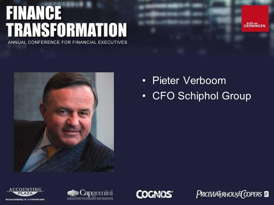 Pieter Verboom CFO Schiphol Group