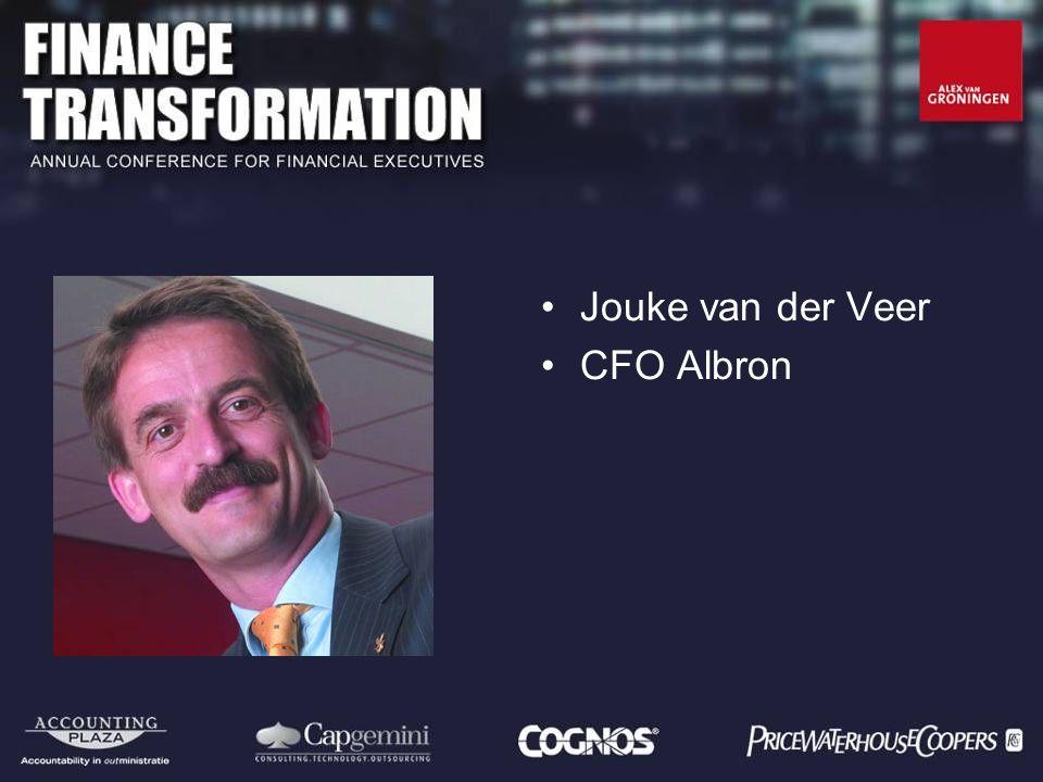 Jouke van der Veer CFO Albron