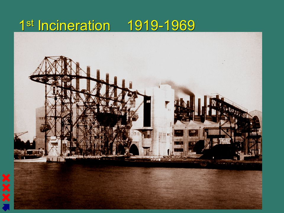 Gemeente Amsterdam Afval Energie Bedrijf 1 st Incineration 1919-1969