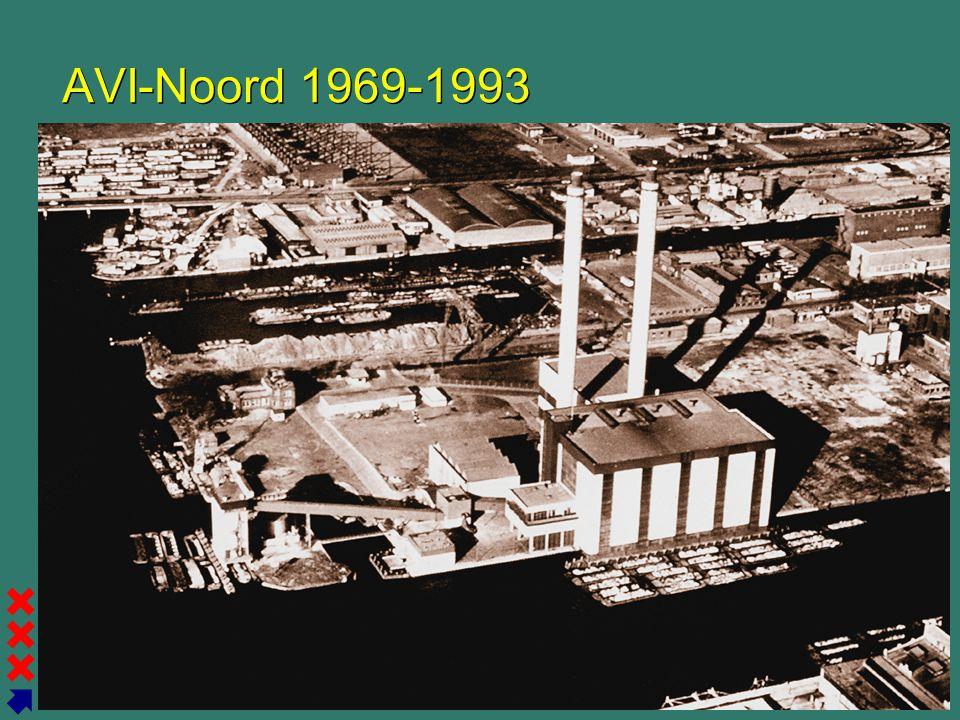 Gemeente Amsterdam Afval Energie Bedrijf AVI-Noord 1969-1993