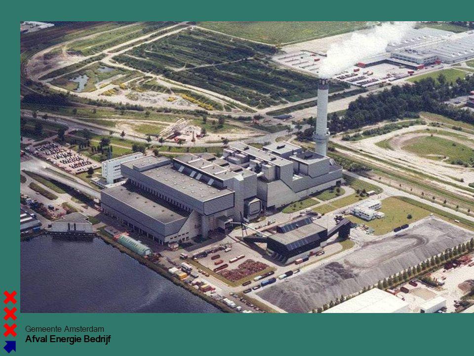 Gemeente Amsterdam Afval Energie Bedrijf Aerial picture (overview)