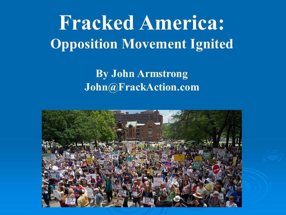 Thank You John@FrackAction.com