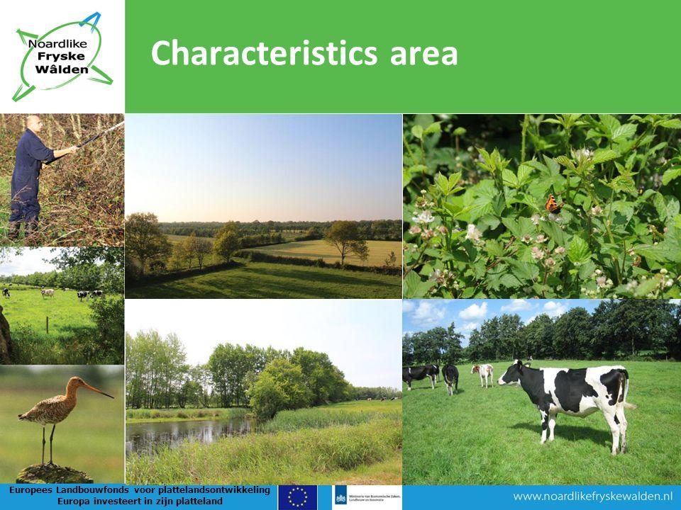 Characteristics area Europees Landbouwfonds voor plattelandsontwikkeling Europa investeert in zijn platteland